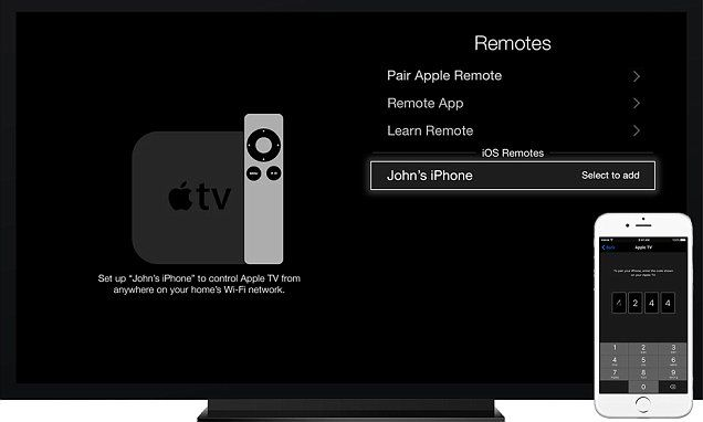 Apple's TV remote app now works on iPad and uses Siri | Daily Mail Online