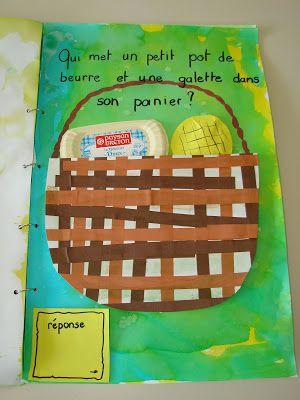 livre devinettes sur les contes traditionnels - petite section de maternelle
