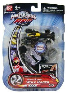 Amazon.com : Power Rangers RPM Turbo Octane Zord Black Wolf Racer : Toys And Games : Toys & Games