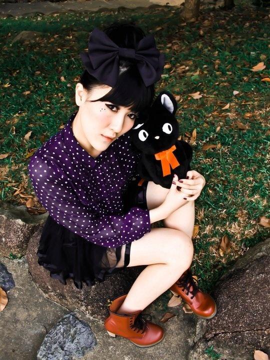 Karen D with Kitty Cat shoot.