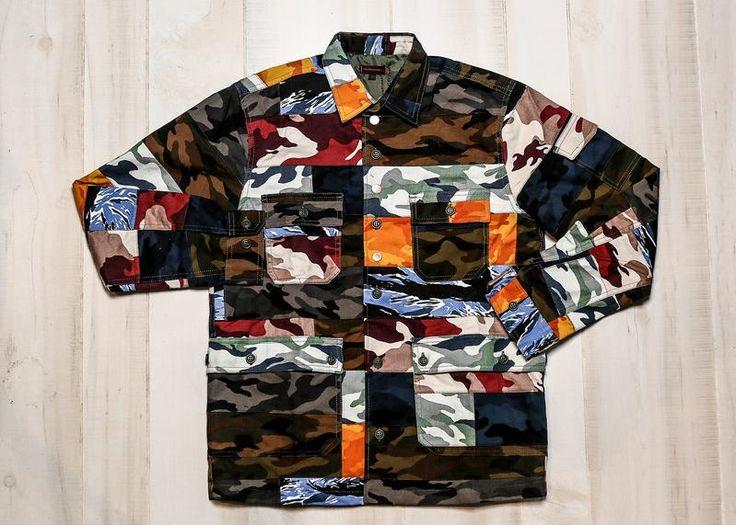 CLOT - BRICK CAMO SHIRT