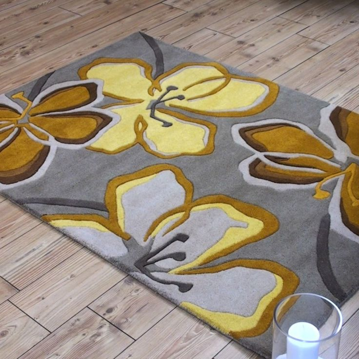 Wilderness Rug Fl Taupe Ochre Now Only 99 Free Uk Pp