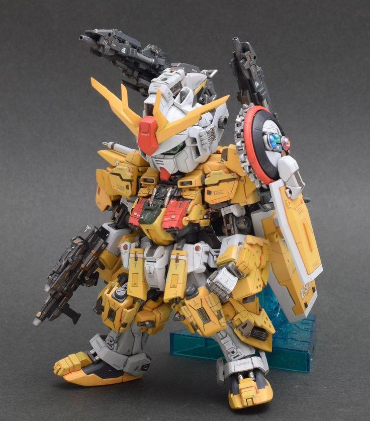 GUNDAM GUY: Winning Gundam Cardigan w/ Super Petit Fumina - Custom Build