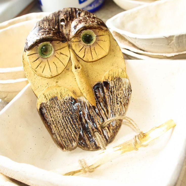 Sova Hedvika - keramika