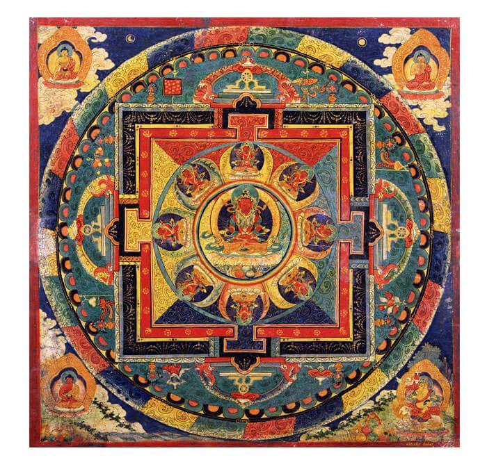 M s de 25 ideas incre bles sobre mandala tibetano en for Cuadros mandalas feng shui decoracion mandalas