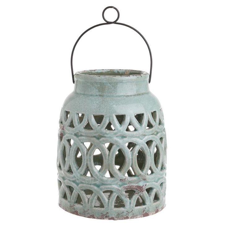 Ceramic Lantern - Lanterns - DECORATIONS - inart