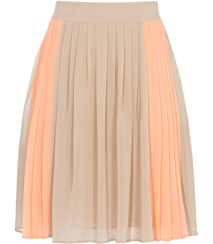 Devon Fully Pleated Skirt: Fashion Shoes, Dreams Closet, Beautiful Skirts, Reiss Skirts, Pretty Skirts, Fashion Looks, Devon Fully, Colors Blocks, Pleated Skirts