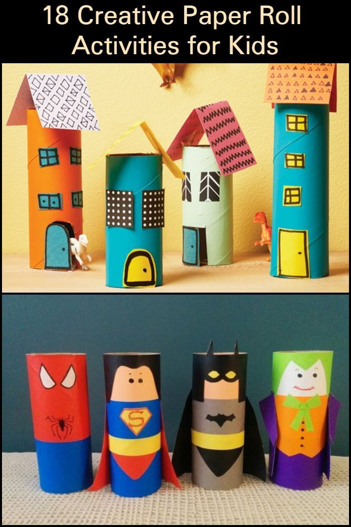 15 Fun Easy Toilet Paper Roll Crafts For Kids Cardboard Tube
