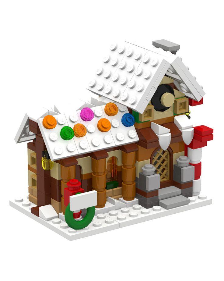 24 best Lego mini winter village images on Pinterest   Lego winter ...