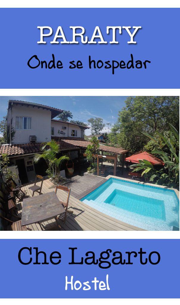 Conheça o Che Lagarto Hostel - Paraty. O melhor hostel da cidade e um dos melhores do Brasil! Diárias baratas em ótima localização!