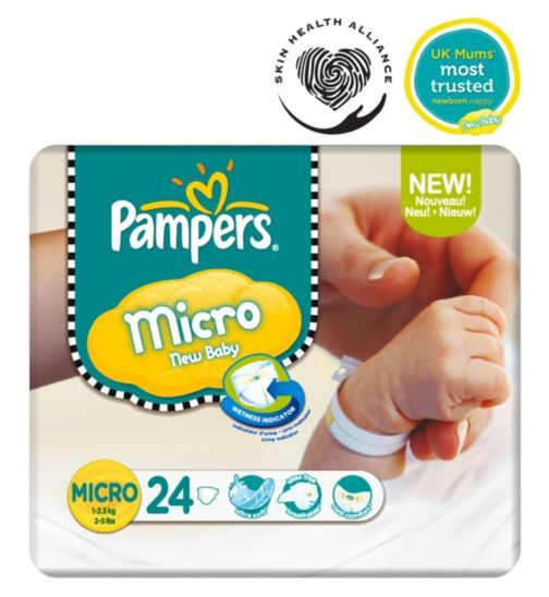 (Possible) To Buy: Pampers Micro New Baby Nappies £3.75