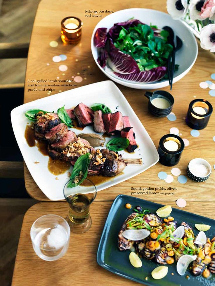 Stylist Kirsten Bookallil for Gourmet Traveller