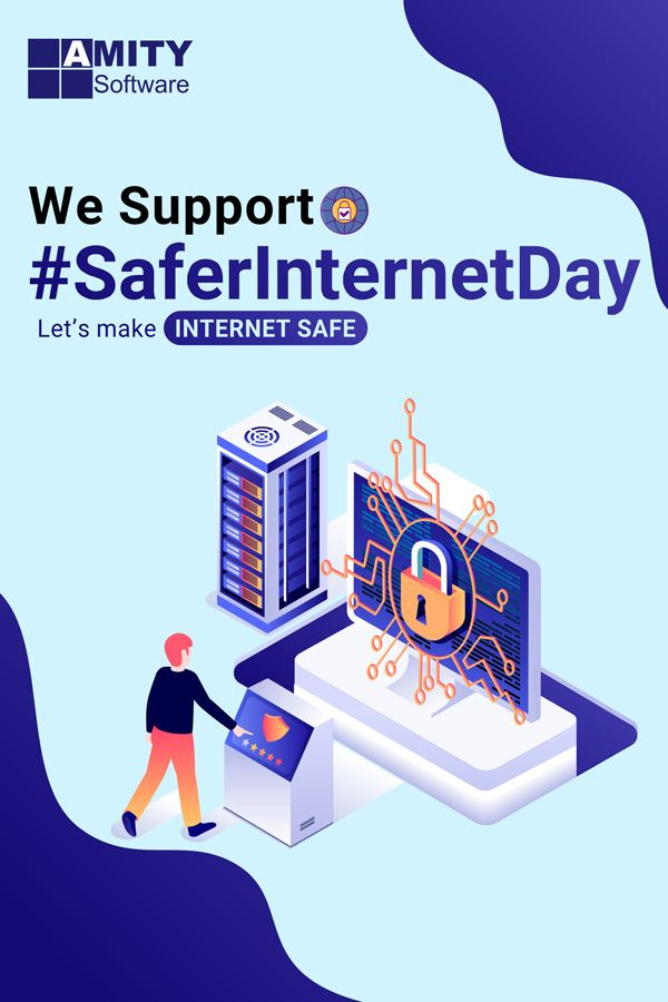 Safer Internet Day In 2020 Safe Internet Supportive Amity