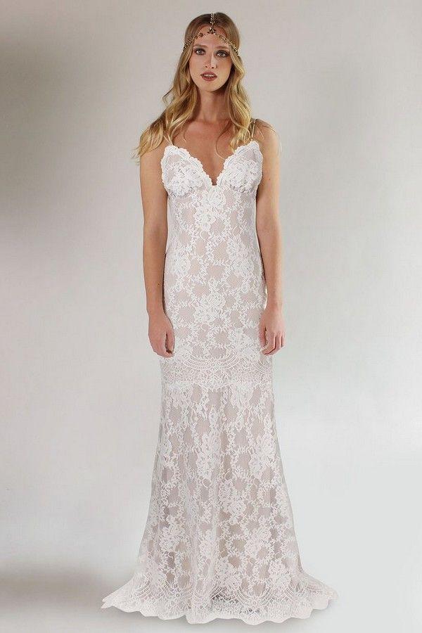 Großartig Vintage Spitze Nixehochzeitskleid Fotos - Brautkleider ...