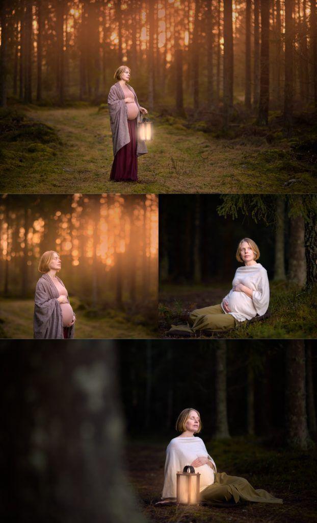 Maternity photoshoot by Swedish photographer Maria Lindberg. Gravidfotografering med Fotograf Maria Lindberg. www.fotografmarialindberg.se