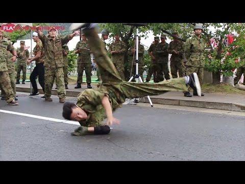 自衛隊員たちが「千本桜」で踊るブレイクダンスがキレッキレで凄い!!   9ポスト