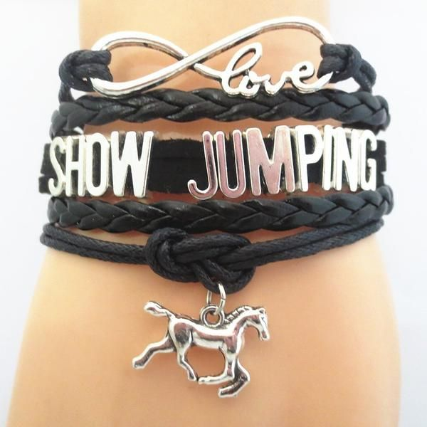 Infinity Love Show Jumping Bracelet Limited time offer - Infinity Love Show Jumping Bracelet on Sale. Show the world your love and passion by wearing one of the