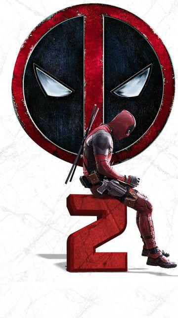 Deadpool 2, 2018 movie, poster, 360x640 wallpaper