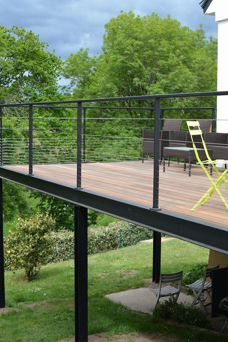 prix terrasse bois sur pilotis frais 53 best terrasse en. Black Bedroom Furniture Sets. Home Design Ideas
