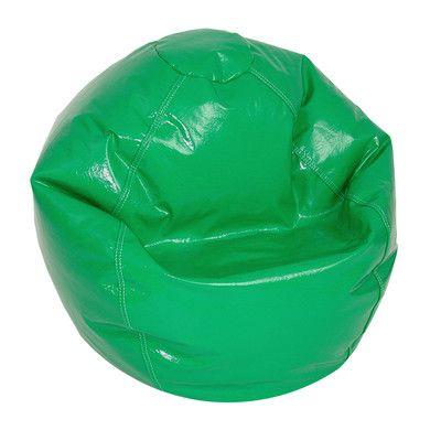 Zipped Bean Bag Chair Upholstery: Green - http://delanico.com/bean-bag-chairs/zipped-bean-bag-chair-upholstery-green-725830070/