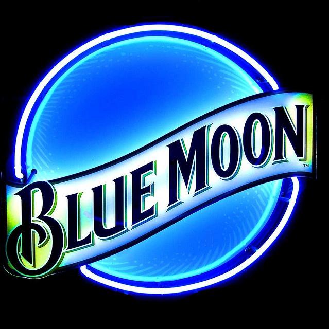 Blue Moon sign.