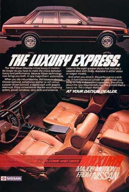 Nissan Maxima Sedan (1984)