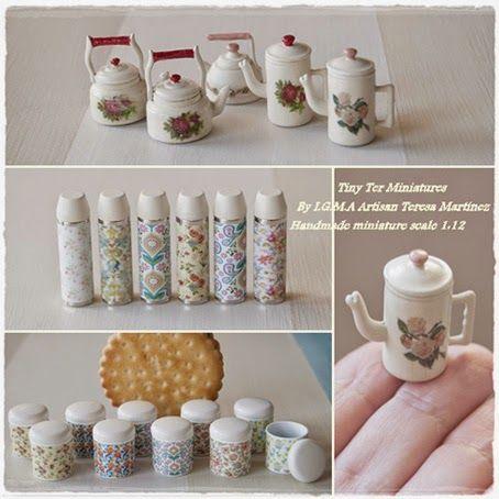 Kitchenware Tiny Ter Miniatures