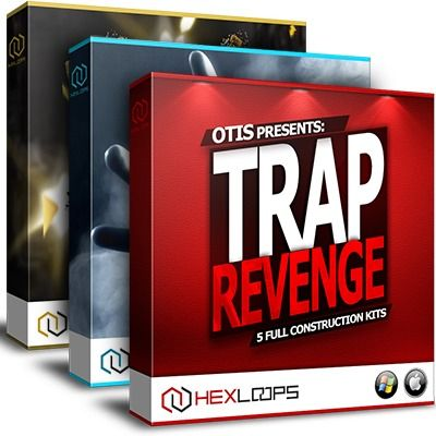 Trap Bundle 4 by Hex Loops includes 3 powerful Trap sample packs in one huge collection of over 1GB Trap loops and samples, all 100% royalty free!