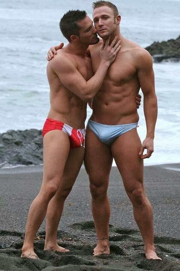 Speedo thong beach erotic story