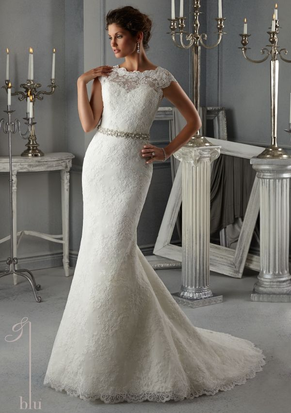 Bridal dress from blu by mori lee dress style 5268 allover for New wedding dress styles