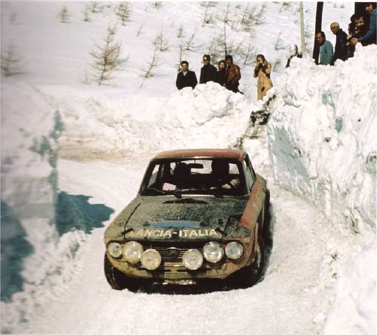 Amilcare Ballestrieri, Lancia Fulvia, Sanremo 1971.