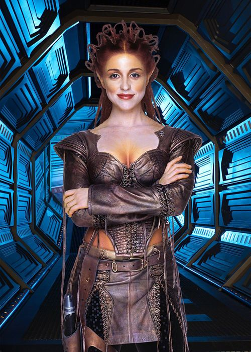 As I make you, I am able to destroy you. As I destroy you, I am able to create. Core Trance Gemini AKA The Purple Princess is a fictional character in the television series Gene Roddenberry's Andromeda, played by Canadian actress Laura Bertram.