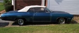 1968 Chevrolet Impala Muscle Car by 68imp http://www.musclecarbuilds.net/1968-chevrolet-impala-build-by-68imp