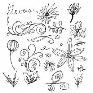 best 25+ easy flower drawings ideas on pinterest   flower drawings