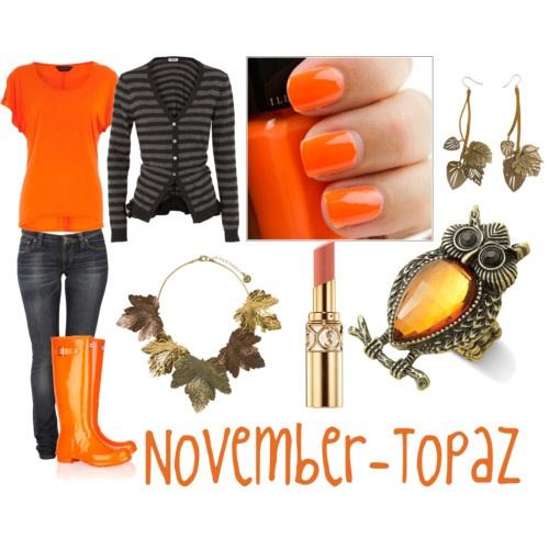 For November birthdays - made by me. :)