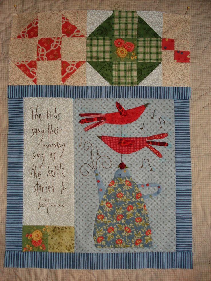 Nelleke's quilts: Gossip in the Garden
