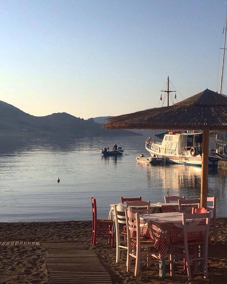 Silver Beach #season2k16 has come to an end,see you all next year! Here's a picture from Plefsis: Traditional Greek Restaurant to keep us in mind. | #grikosbay #silverbeach #patmosisland www.silver-beach.gr
