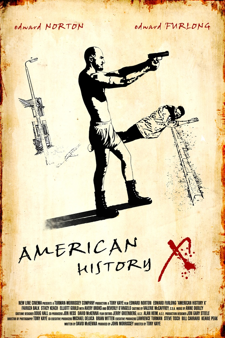 fan made poster of edward norton's american history x by ...