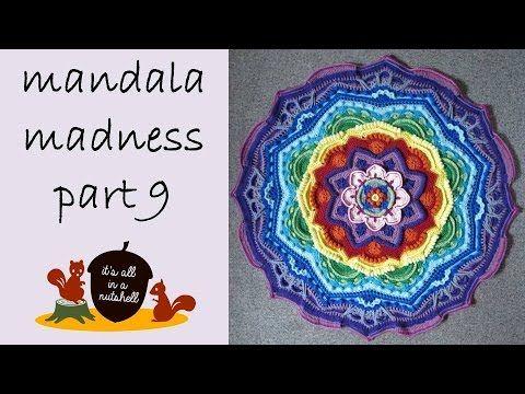 Video-tutorial Mandala Madness week 9 | Het is allemaal in een notendop
