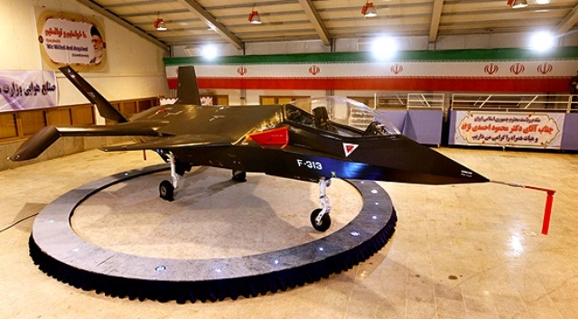 Iran reveals new Qaher 313 stealth fighter