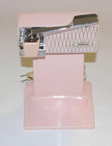Sunbeam Vintage Pink Electric Can Opener