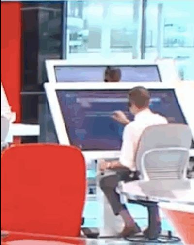 Fox News debuts bizarre, giant tablets in its outrageous newnewsroom If you can't make the news better, make it bigger By T.C. Sottek October 7, 2013