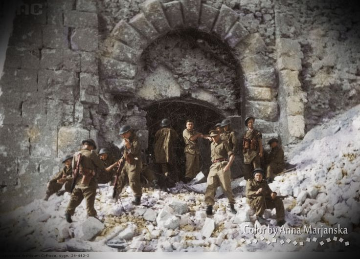 May 1944, 2nd Polish Corps, Monte Cassino, Italy