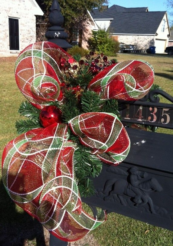 how to decorate your mailbox for christmas - Rainforest ...