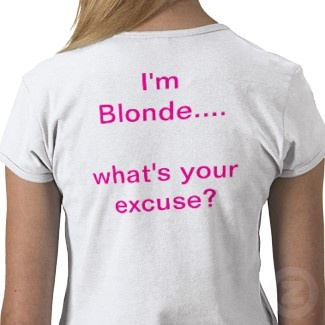 funny Blonde quotes