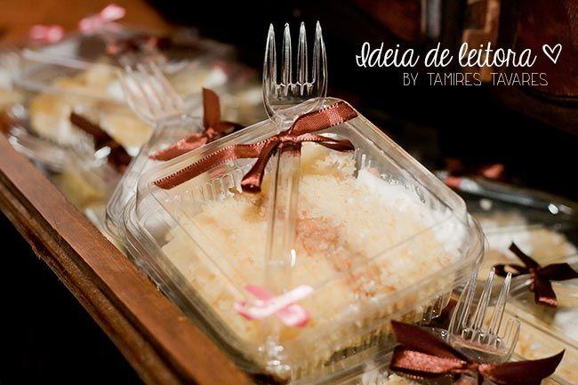 O bolo de casamento da Tamires (bolo em pedaços) | Blog do Casamento - O blog da noiva criativa! | Comidinhas e bebidinhas, Idéias criativas, Receitas (Perfeitooooo)