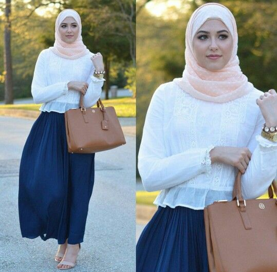 ..Simple Hijabi Outfit Idea.. {Blog: WithLoveLeena}
