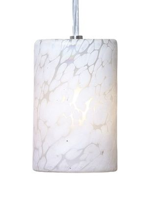 49% OFF Arttex Spring Pendant, White with White Spots