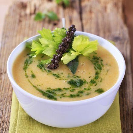Recette de Soupe d'hiver aux légumes