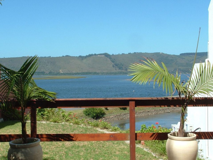 View from a room Balcony at Knysna Terrace Guesthouse